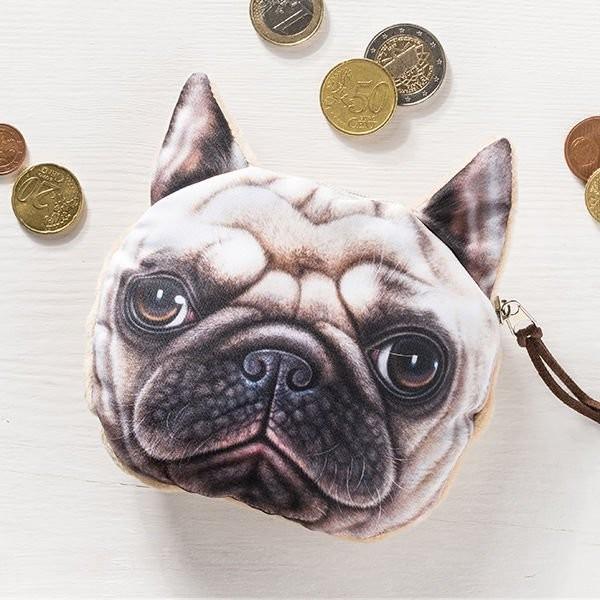 Psí peněženka na drobné Psí peněženka na drobné buldoček