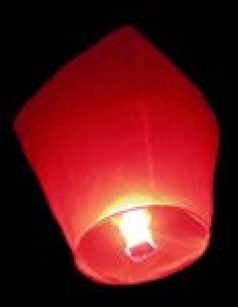 Lampiony přání - 10ti pack Lampiony přání - 10ti pack Červené lampiony