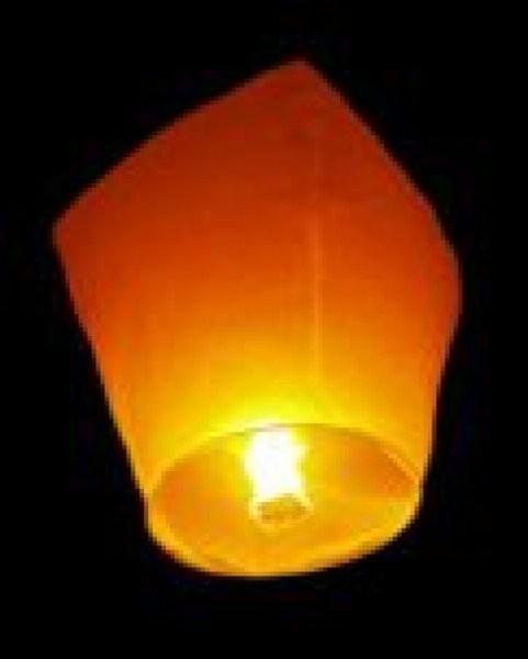 Lampiony přání - 10ti pack Lampiony přání - 10ti pack Žluté lampiony