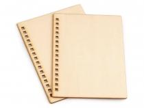 Dřevěné desky na výrobu zápisníku 100ks - 8 Kč / ks buk