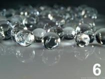 Vodní perly - gelové kuličky do vázy cca 4g CRYSTAL SOILS 10sáček - 16 Kč / sáček 6 transparent