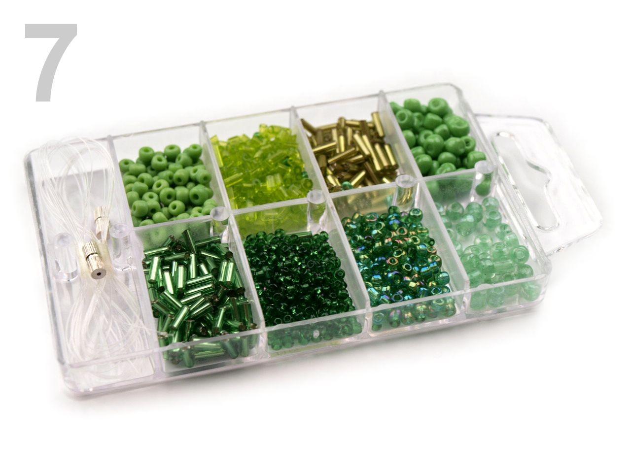 Korálky ROKAJL v plastovém boxu 210878 1krab, - 53 Kč / krab, 7 Amazon