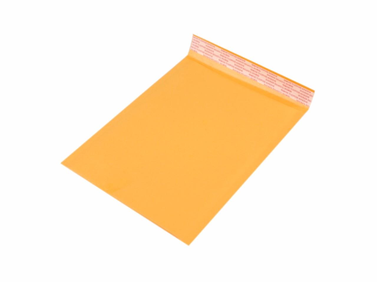 Bublinková obálka 18x23cm 10ks - 10 Kč / ks oranžová stř.