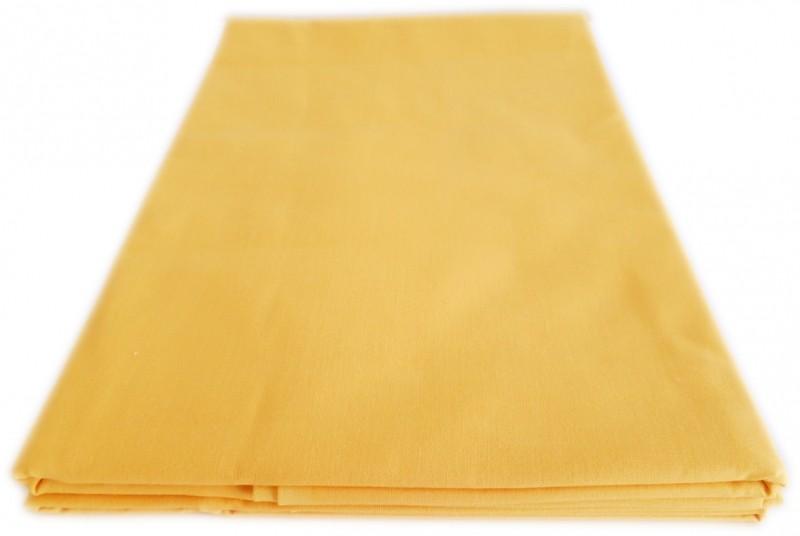 Polášek Prostěradlo bavlna plátno žluté 140x170 cm