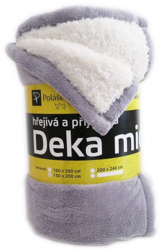 Polášek Deka beránek šedá č. 31 150 x 200 cm