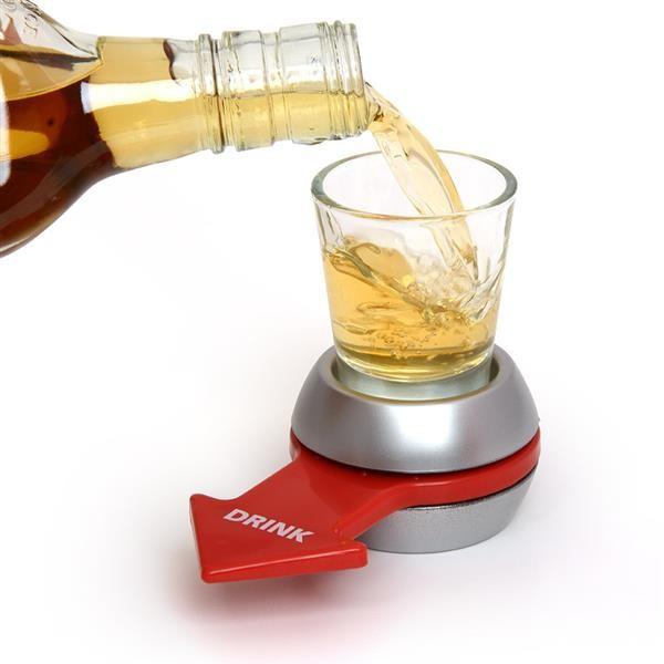 Alkoholová hra - roztoč panák Alkoholová hra - roztoč panák