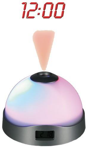 Projekční budík měnící barvy Projekční budík měnící barvy