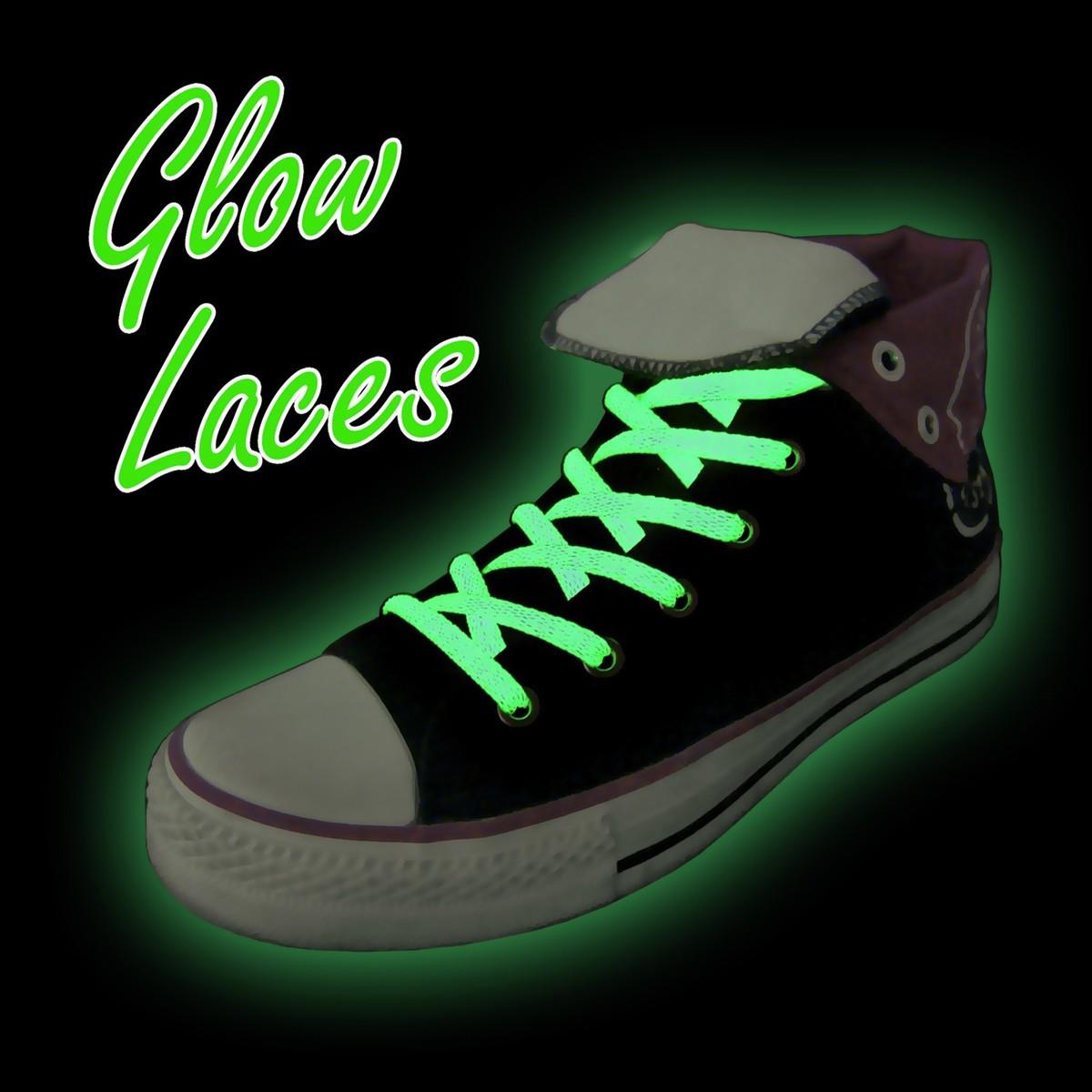 Svítící tkaničky - Zelené Svítící tkaničky - Zelené