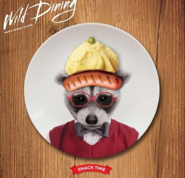 Malé talířky Wild Dining Malé talířky Wild Dining mýval