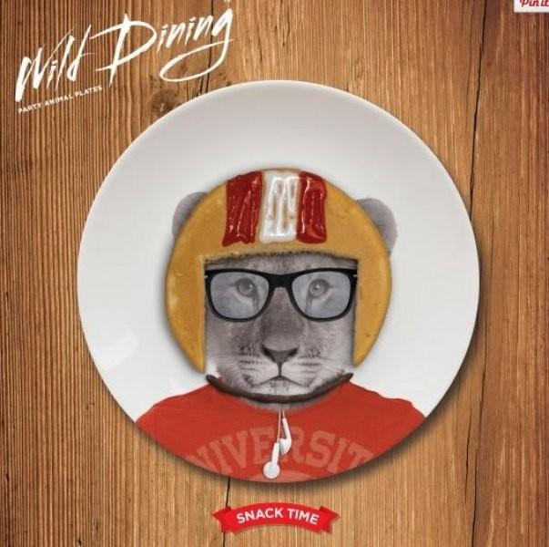 Malé talířky Wild Dining Malé talířky Wild Dining lev