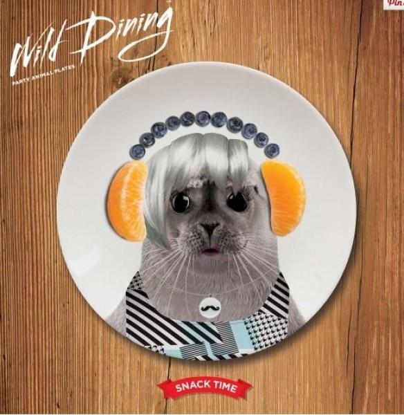 Malé talířky Wild Dining Malé talířky Wild Dining tuleň