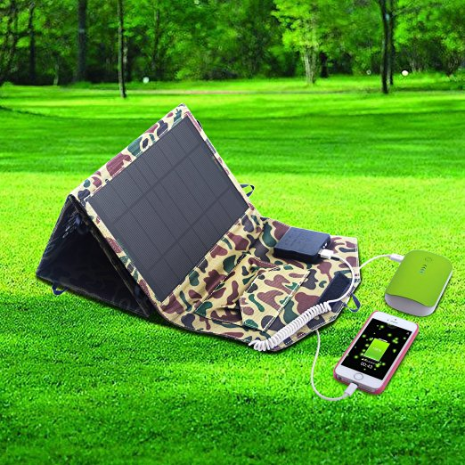 Solární nabíječka 10w