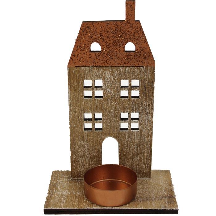 Domek na čajovou svíčku