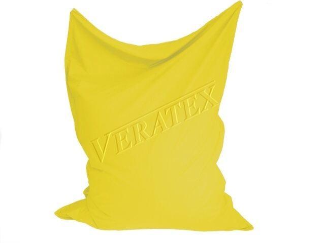 VERATEX Sedací vak/pytel Maxi 140 x 180 x 30 cm (stř.žlutý)