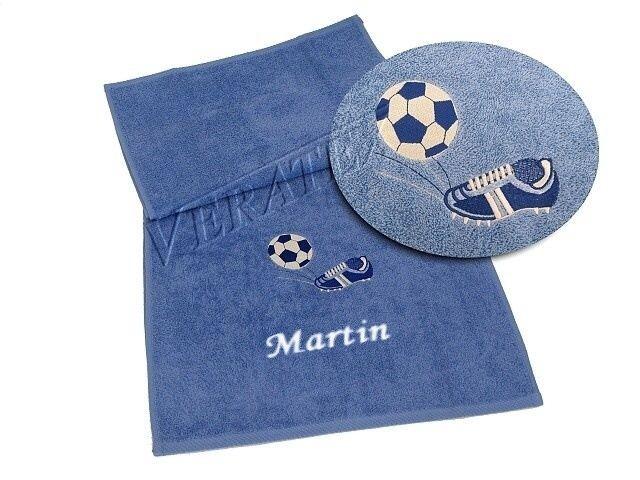 VERATEX Ručník fotbal 50x100 (č.11 král.modř)