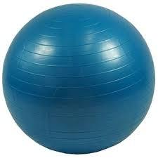 Gymnastický míč 75 cm - modrý