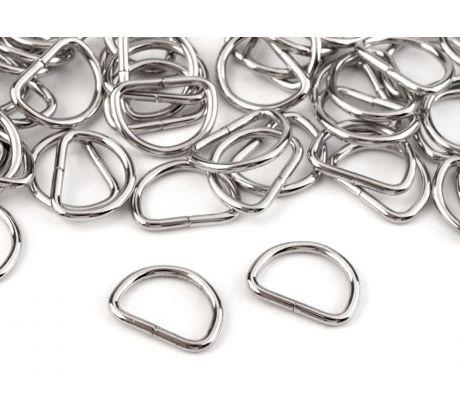 Úvod · TEXTILNÍ GALANTERIE · Kovová galanterie · polokroužky a kroužky  Polokroužek šíře 20 mm. Polokroužek šíře 20 mm 74cf258d87b